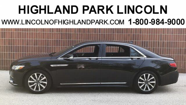 2019 Lincoln Continental Livery AWD
