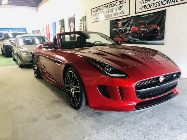 2016 Jaguar F-TYPE R Convertible AWD