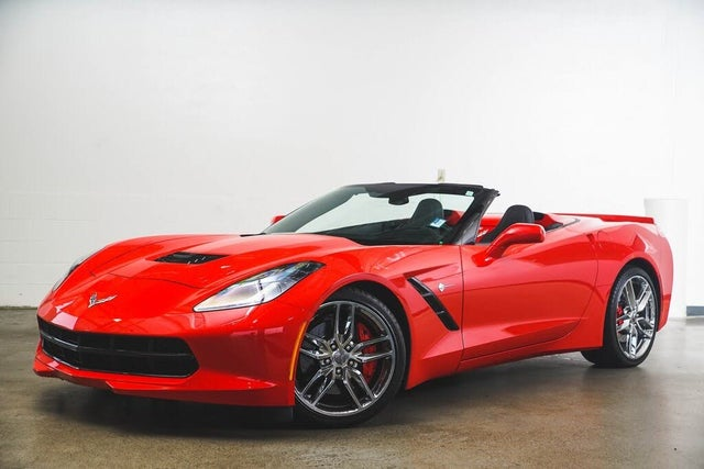 2015 Chevrolet Corvette Stingray Z51 2LT Convertible RWD