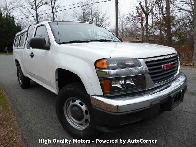 2006 GMC Canyon WT Ext Cab 4WD
