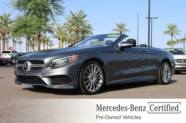 2017 Mercedes-Benz S-Class Coupe S 550 Cabriolet