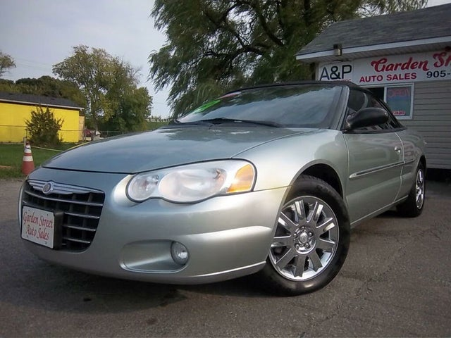 2005 Chrysler Sebring Limited Convertible FWD
