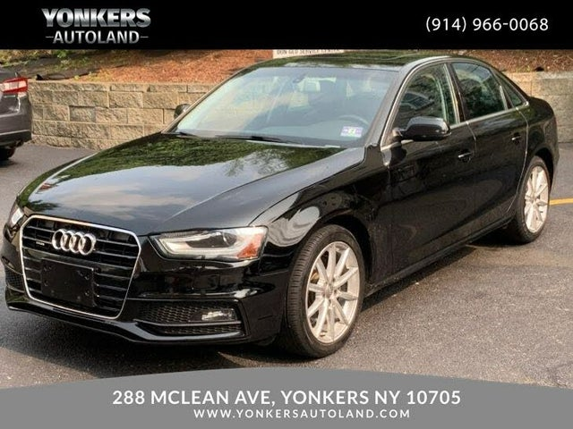2014 Audi A4 2.0T quattro Premium Plus Sedan AWD