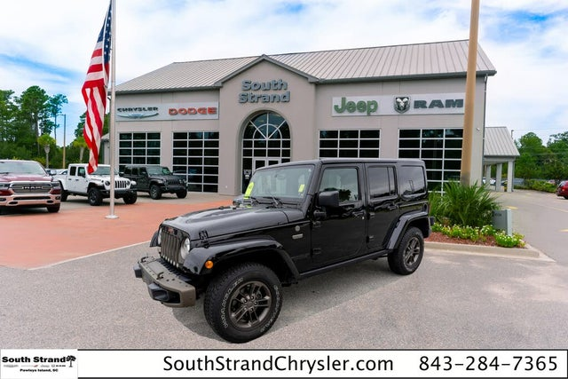 2017 Jeep Wrangler Unlimited Sahara 75th Anniversary 4WD
