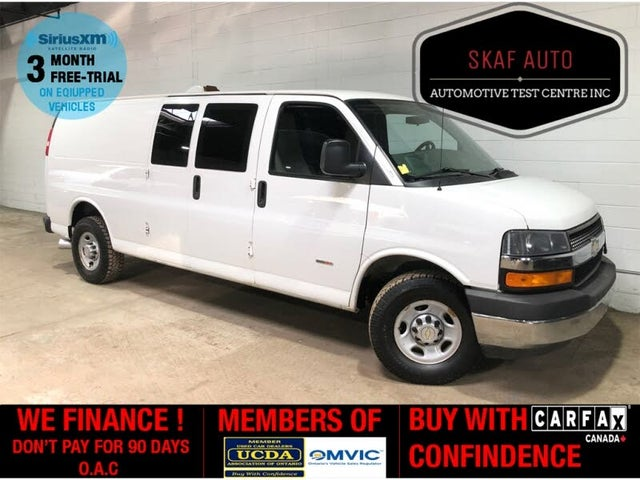 2014 Chevrolet Express Cargo 3500 Diesel Extended RWD