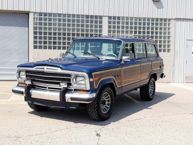 1989 Jeep Grand Wagoneer 4 Dr STD 4WD SUV