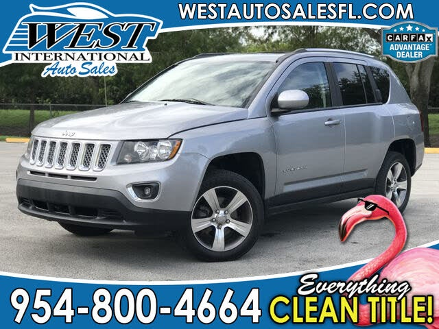 2017 Jeep Compass X Latitude