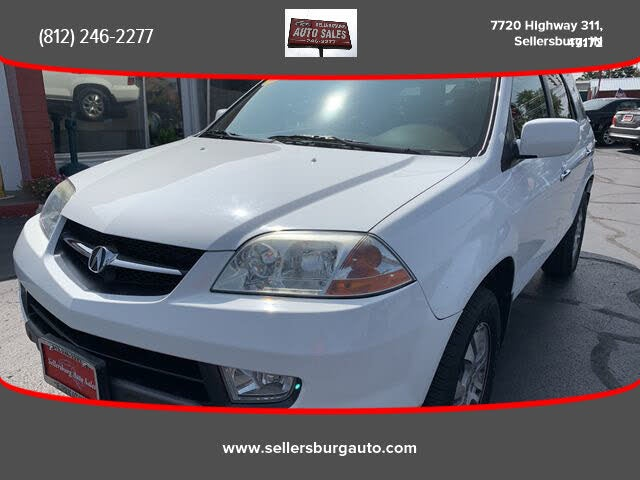 2003 Acura MDX AWD with Touring Package and Entertainment System