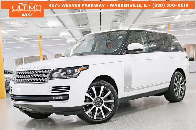 2015 Land Rover Range Rover V8 Autobiography 4WD