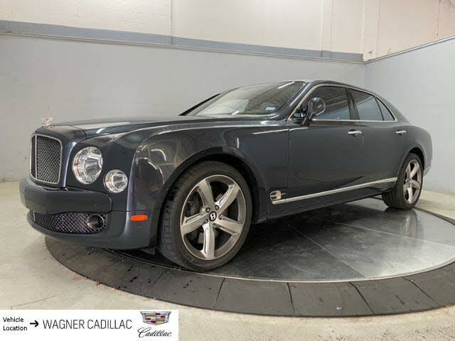 2016 Bentley Mulsanne Speed RWD