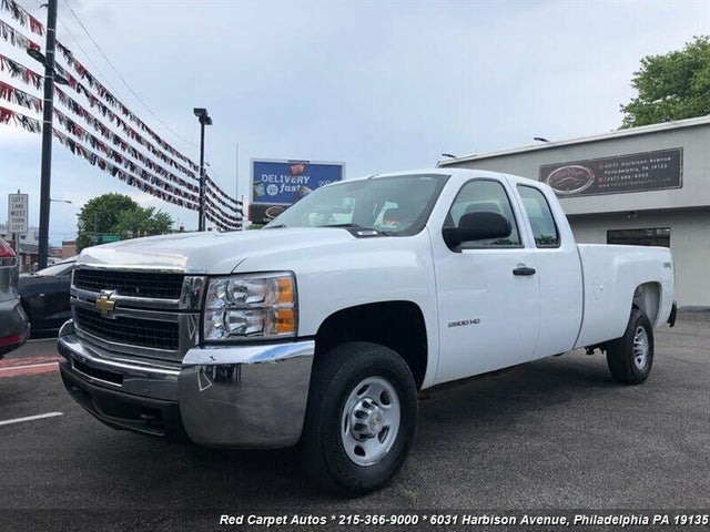 2010 Chevrolet Silverado 2500HD Work Truck Extended Cab 4WD