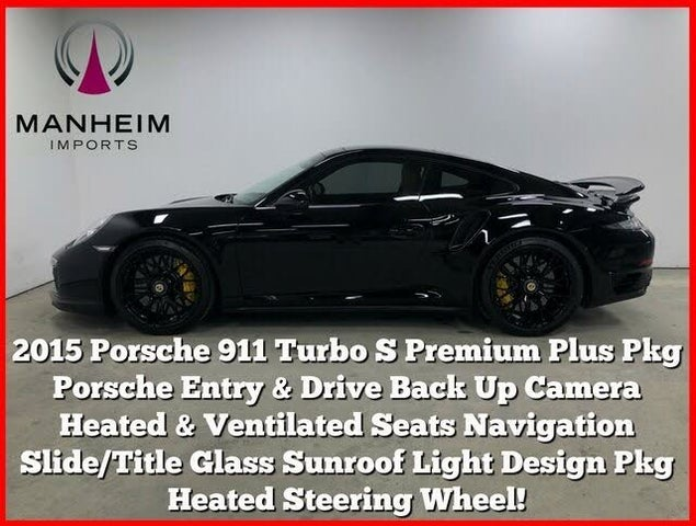 2015 Porsche 911 Turbo S Coupe AWD