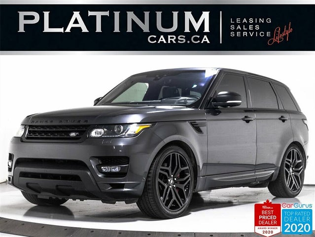 2017 Land Rover Range Rover Sport V8 Autobiography 4WD