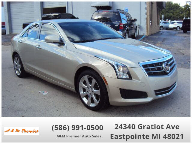 2014 Cadillac ATS 2.0T Luxury AWD