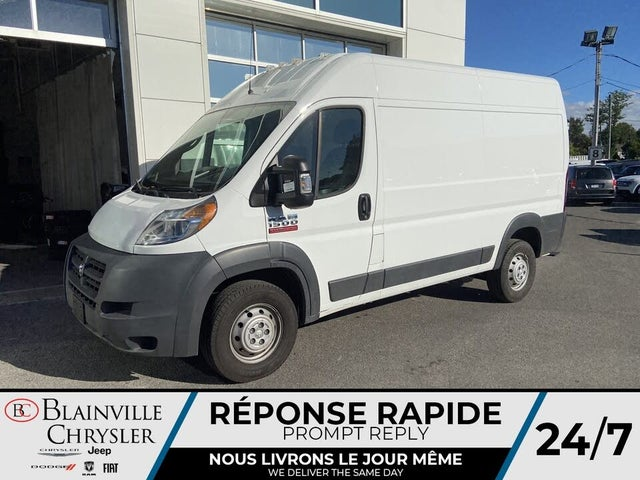 2018 RAM ProMaster 1500 136 High Roof Cargo Van