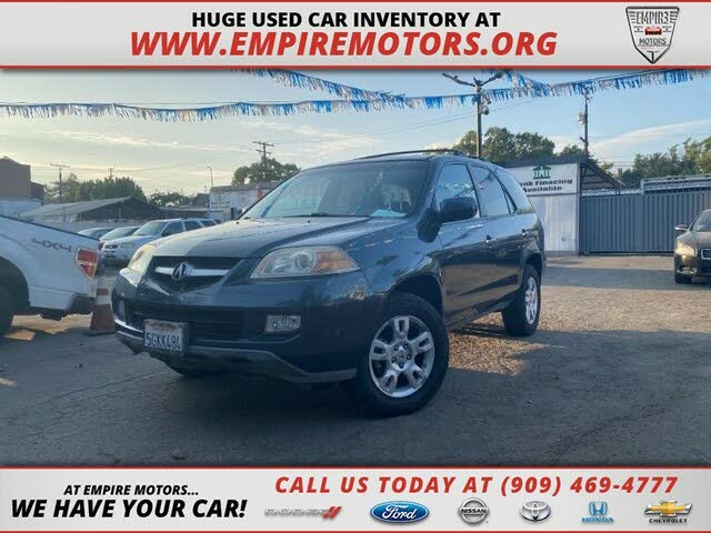 2004 Acura MDX AWD with Touring Package, Navigation, and Entertainment System
