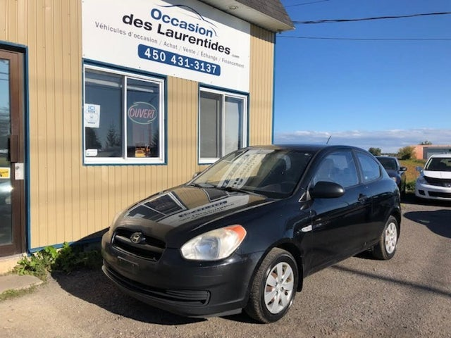 2008 Hyundai Accent GS 2-Door Hatchback FWD