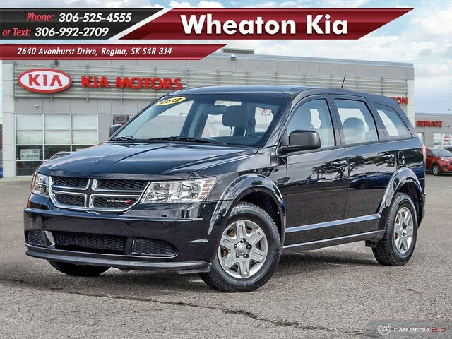 2012 Dodge Journey Canada Value Package FWD