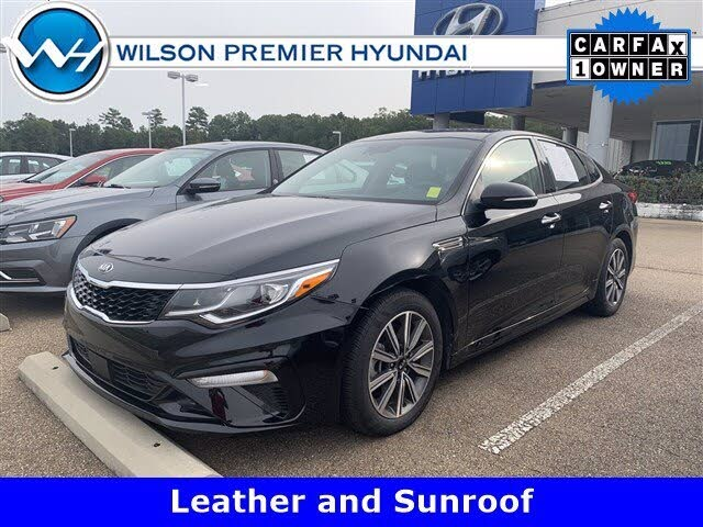2019 Kia Optima EX Turbo FWD