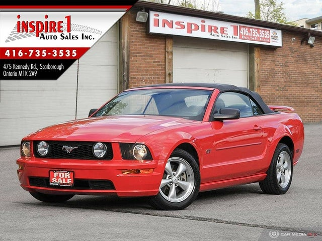 2008 Ford Mustang GT Convertible RWD