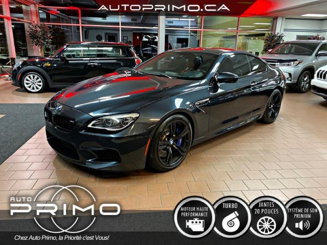 2017 BMW M6 Coupe RWD