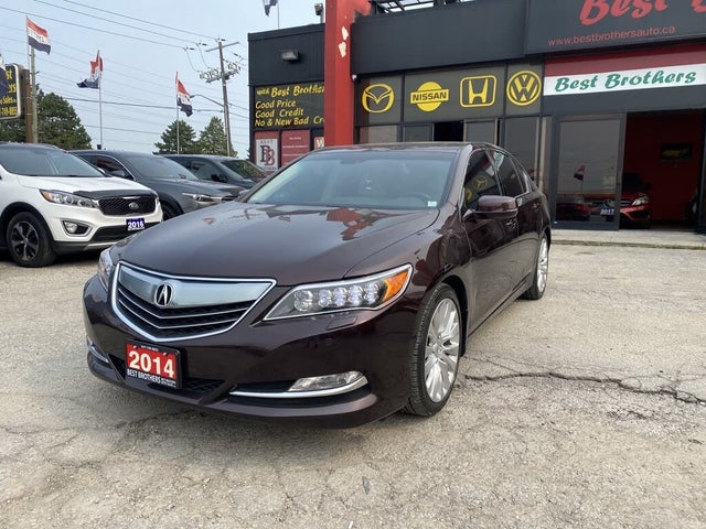 2014 Acura RLX FWD with Advance Package
