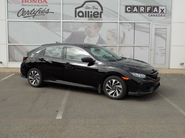2017 Honda Civic Hatchback LX with Honda Sensing