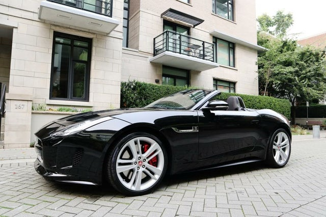 2015 Jaguar F-TYPE S V8 Convertible RWD