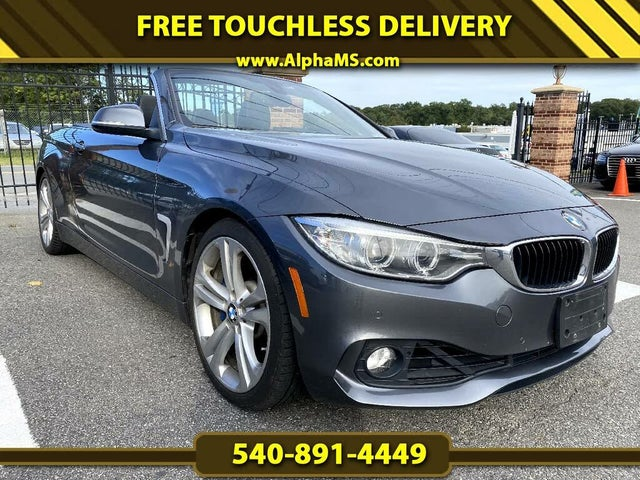 2014 BMW 4 Series 435i Convertible RWD