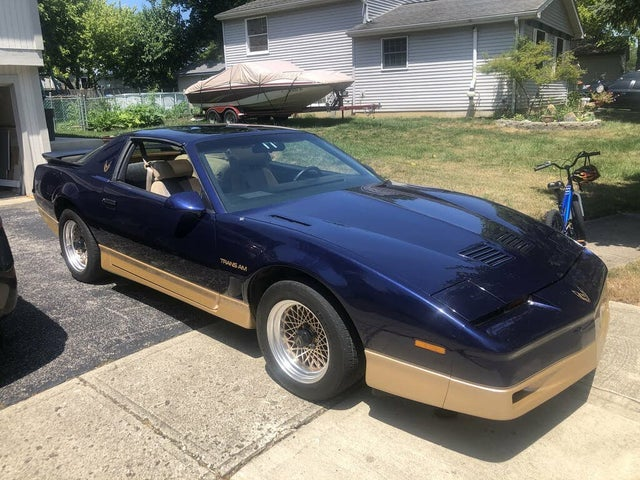 used 1986 pontiac firebird trans am for sale right now cargurus used 1986 pontiac firebird trans am for