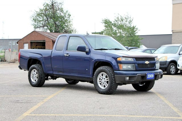 2009 Chevrolet Colorado 1LT Extended Cab 4WD