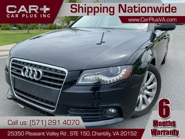 Used Audi A4 For Sale In Charlottesville Va Cargurus