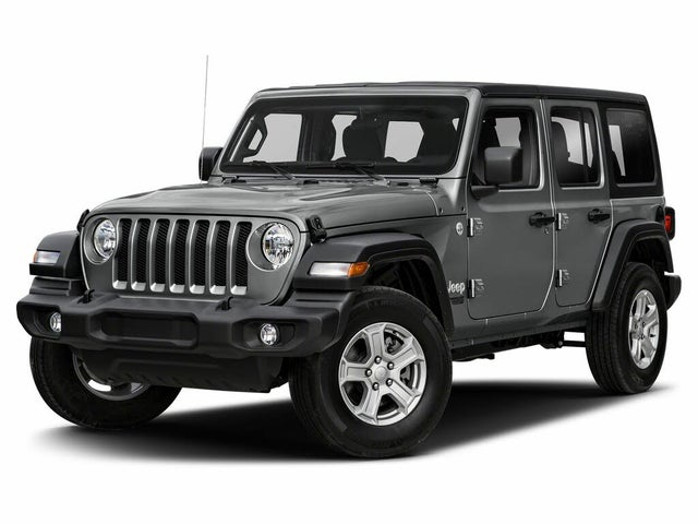 2020 Jeep Wrangler Unlimited Sahara 4WD
