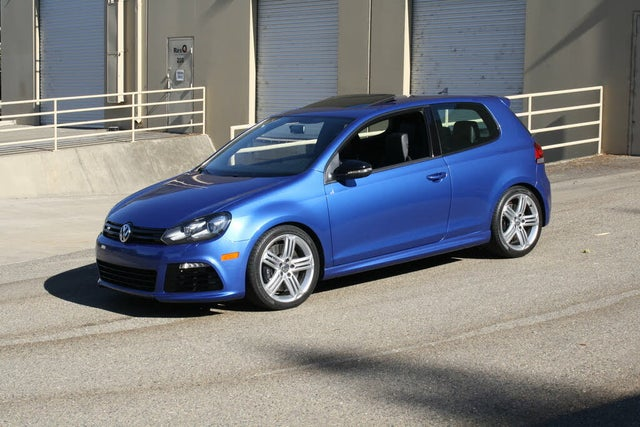 2013 Volkswagen Golf R 2-Door AWD with Sunroof and Navigation