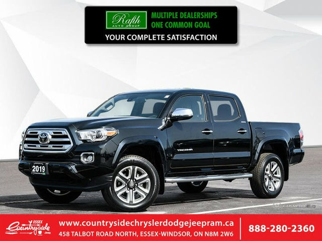 2019 Toyota Tacoma Limited Double Cab 4WD
