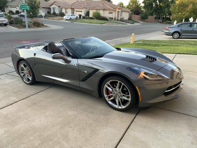 2016 Chevrolet Corvette Stingray Z51 3LT Convertible RWD