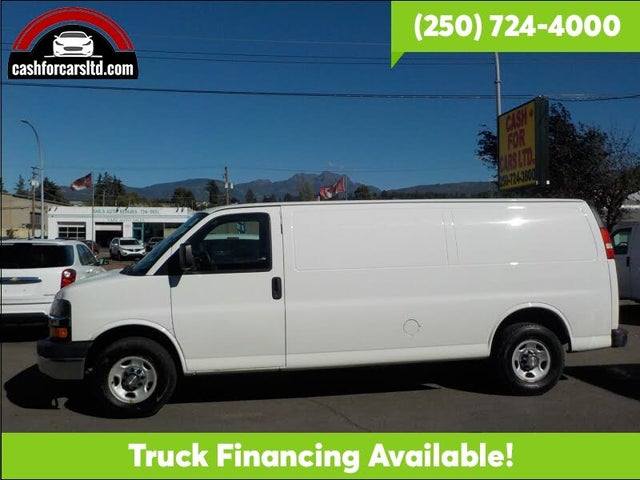 2013 Chevrolet Express Cargo 3500 Extended RWD