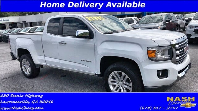 2016 GMC Canyon SLT Ext. Cab LB