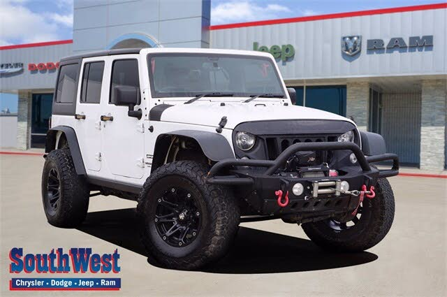 2016 Jeep Wrangler Unlimited Sport RHD 4WD