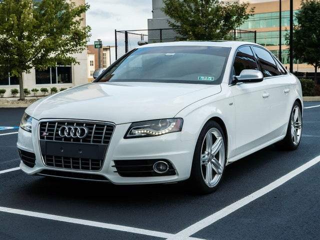 2012 Audi S4 3.0T quattro Premium Plus Sedan AWD