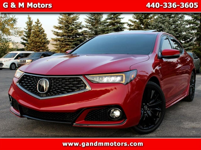 2019 Acura TLX V6 A-Spec FWD with Technology Package
