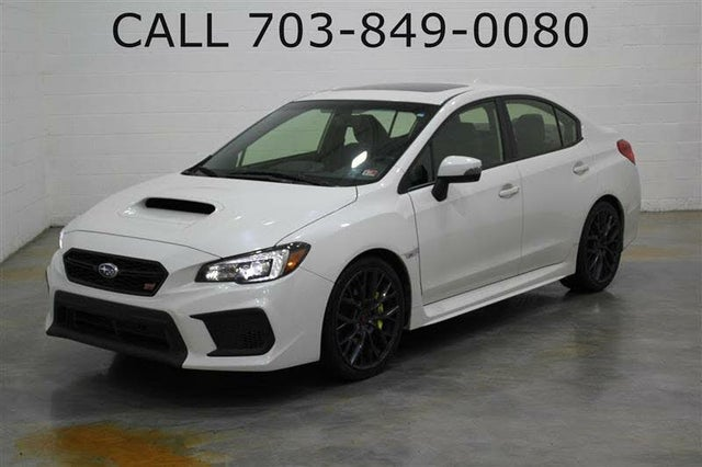 2019 Subaru WRX STI Limited AWD with Low Profile Spoiler