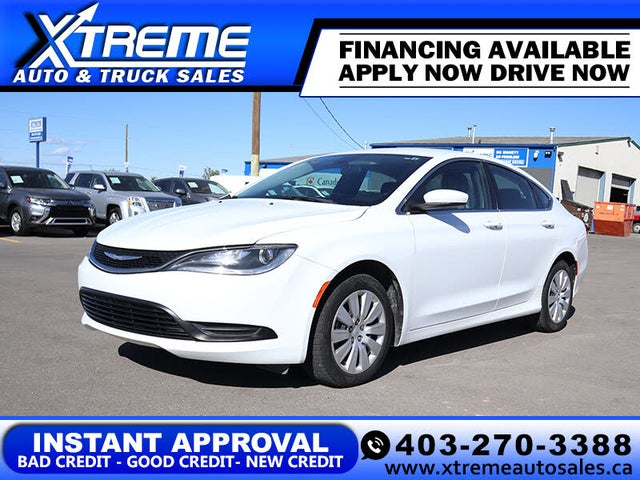 2015 Chrysler 200 LX Sedan FWD