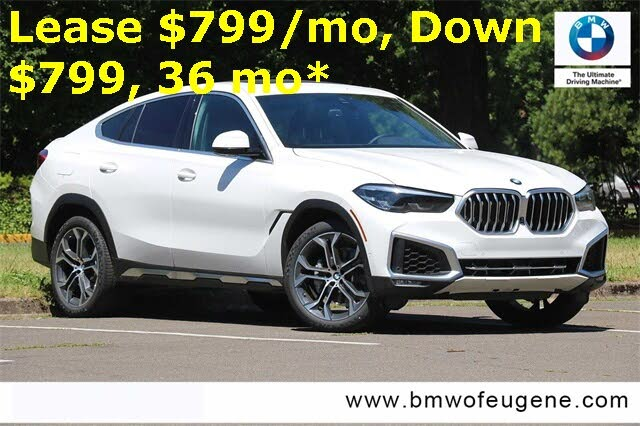 2020 BMW X6 xDrive40i AWD