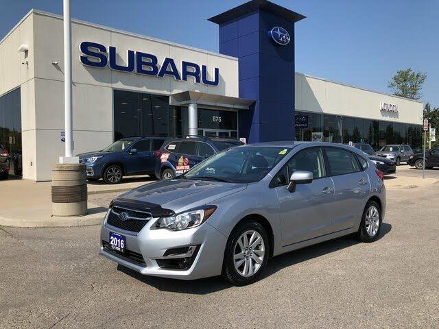 2016 Subaru Impreza 2.0i Touring Wagon