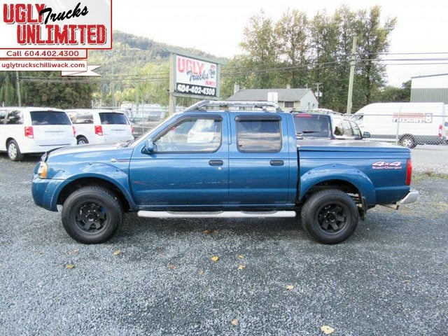2001 Nissan Frontier 4 Dr SC Supercharged 4WD Crew Cab SB