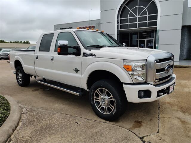 2016 Ford F-250 Super Duty Platinum Crew Cab LB 4WD