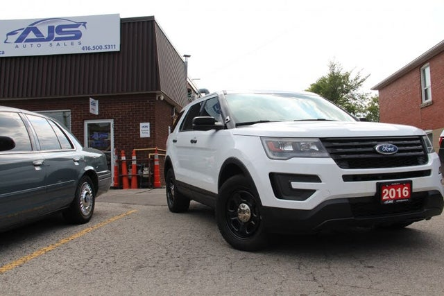 2016 Ford Explorer Police Interceptor AWD