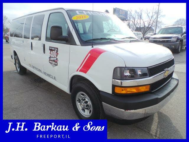 2018 Chevrolet Express Cargo 3500 Extended RWD