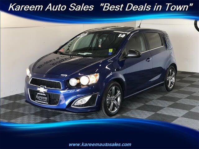 2014 Chevrolet Sonic RS Hatchback FWD